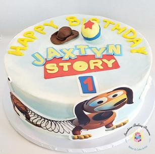 Toy Story Slinky Dog Cake