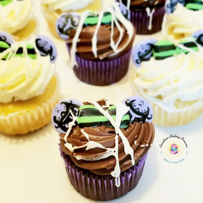 Hauted Mansion Inspired Cupcakes