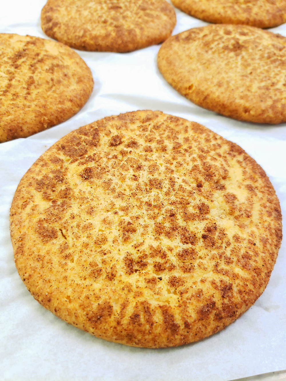 A sugar cookie tossed in a blend of chai spices