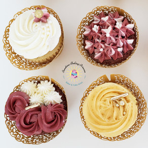 Downton Abbey inspired Cupcakes