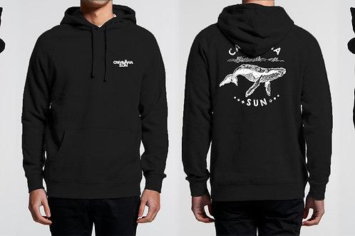 Black Whale Hoodie