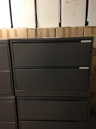 """#75, Pre-Owned 36""""W Hon 2 Drawer Lateral Files"""