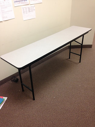 "#185, Pre-Owned 18""x72"" Folding Tables"