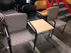 """#316, Pre-Owned 24"""" x 24"""" End Tables"""