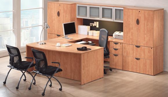 Executive Office Suite | 12'W x 9'D