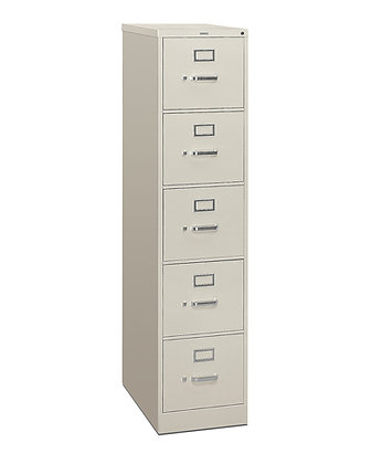 Metal 5-Drawer Vertical File
