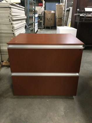 #170, Pre-Owned Knoll 2 Drawer Lateral Files