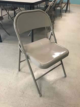 #269 Pre-Owned Metal Folding Chairs