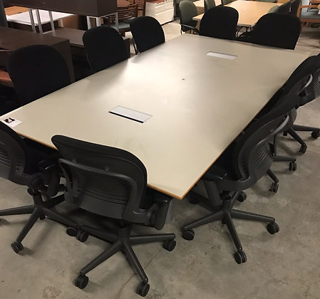 #268, Pre-Owned 9'x5' Vox Conference Table