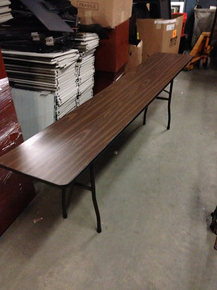 "#215, Pre-Owned 18"" x 96"" Folding Tables"