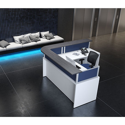 "L Shaped Reception Desk | 78"" x 78"""