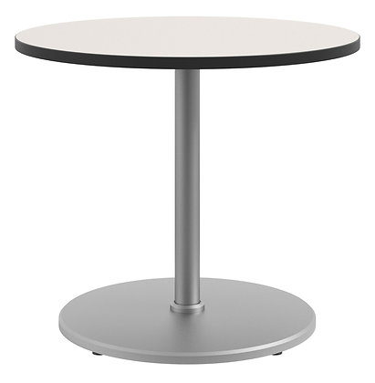 """Cafe Height 36"""" Round Table with Disc Shroud 