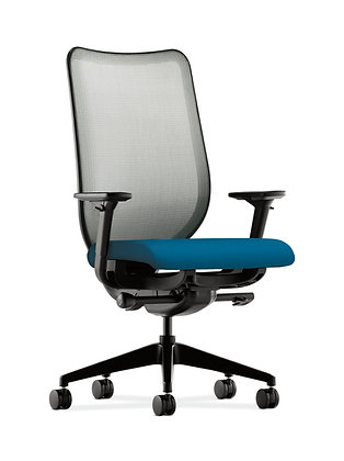 Knit Mesh Back Computer Chair with Adjustable Arms