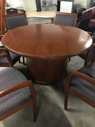 """#481, Pre-Owned Steelcase 54"""" Round Table"""