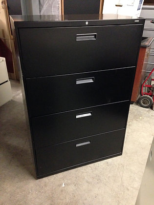 """#79, Pre-Owned 36""""W Hon 4 Drawer Lateral Files"""