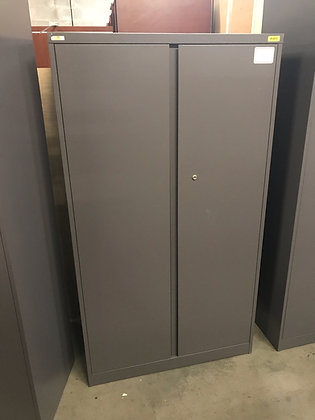 """#385, Pre-Owned Steelcase Metal Storage Cabinets 