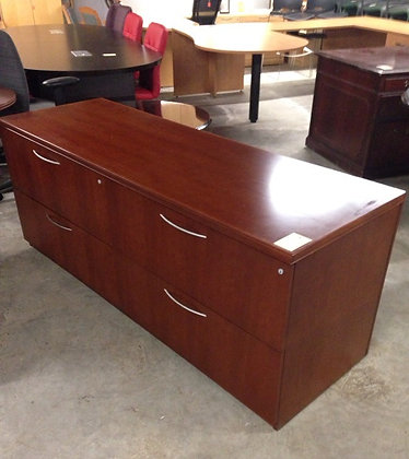 #262, Pre-Owned 24x72 Lateral File Credenzas