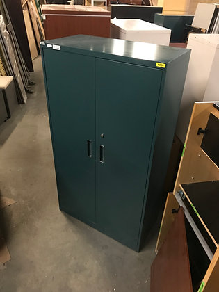 #371, Pre-Owned Steelcase Metal Storage Cabinets