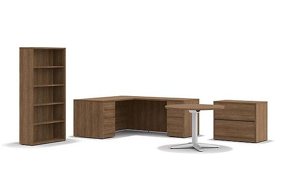 L-Shaped Desk Set #256