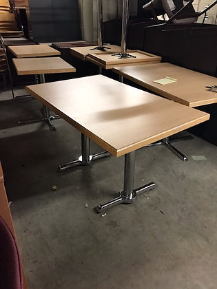"""#396, Pre-Owned Rectangular Cafe Tables 