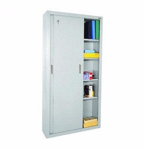 """72"""" H Sliding Door Cabinet"""