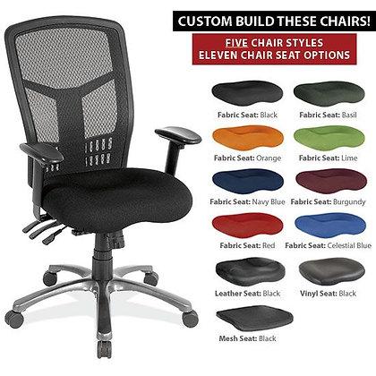 Multi Function High Back w/ Seat Slider
