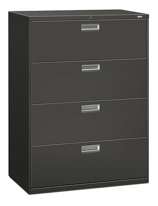 """Brigade 4 Drawer Lateral File - 19.25""""D x 42""""W"""