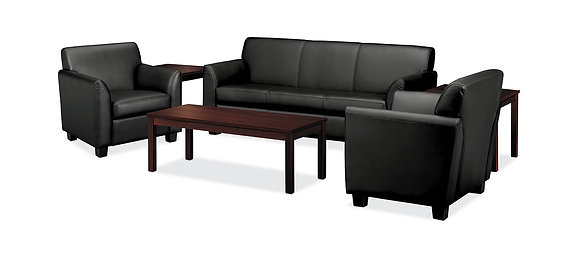 Seating for Five with Coffee Table and End Table