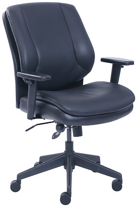 Mid Back Task Chair w/ Black Frame