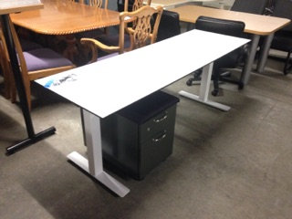 """#310, Pre-Owned Height Adjustable Tables - 24""""D x 72""""W"""
