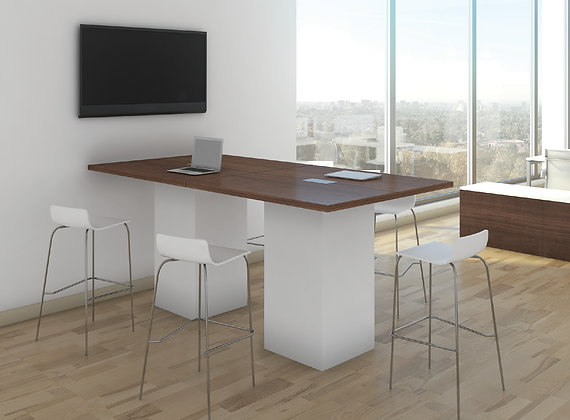 Cafe Height Meeting Table - 8'L