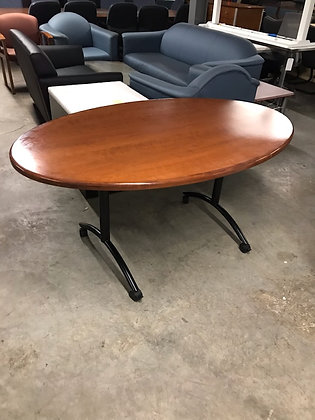 #446, Pre-Owned Mobile Meeting Table | 36 x 60