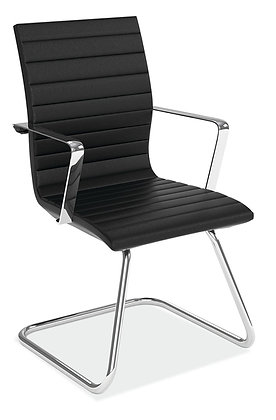 Executive Guest Chair with Sled Base