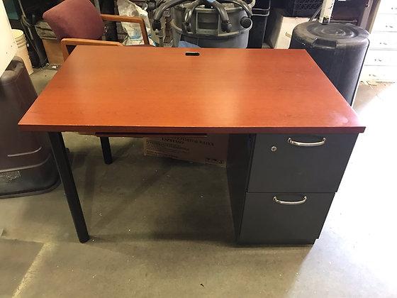 #407, Pre-Owned Single Pedestal Desks