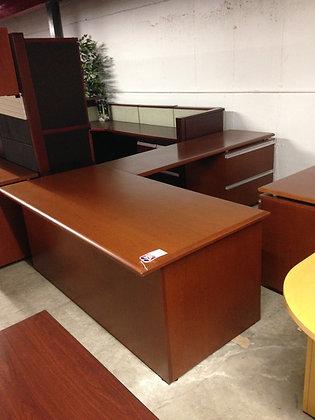 #145, Pre-Owned Knoll L-Shaped Desks