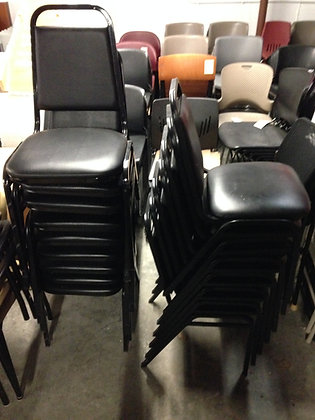 #209, Pre-Owned Stacking Side Chairs