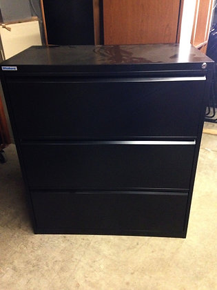 #238, Pre-Owned 3 Drawer Lateral Files