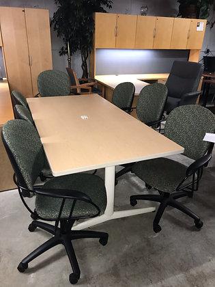#387, Pre-Owned Allsteel Meeting Table | 72 x 36