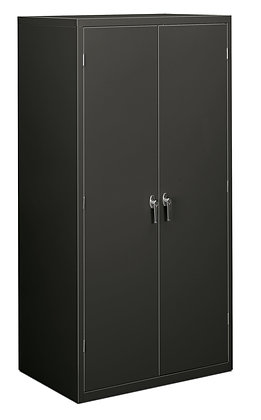 "Storage Cabinet, 5 Shelves, 24""D, Charcoal"