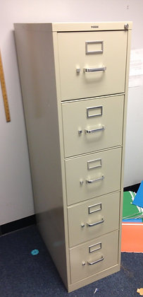 #240, Pre-Owned 5 Drawer Vertical File