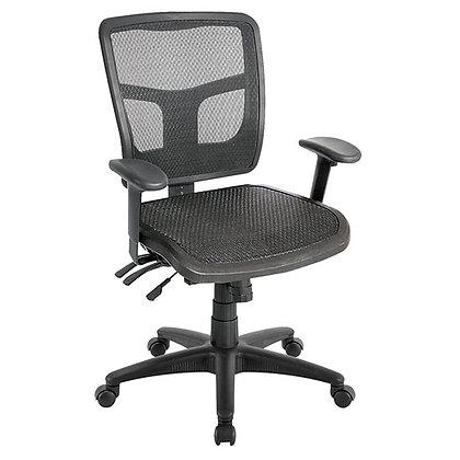 Multi-Function, Mid-Back, Mesh Ergonomic Task Chair