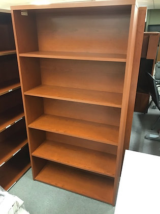#456, Pre-Owned HON 10500 5-Shelf Bookcases