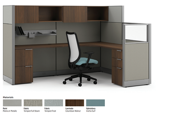 8x6 Cubicle System