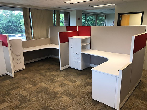 #405, Pre-Owned Allsteel Optimize 6' x 6' Cubicles