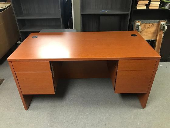 #445, Pre-Owned HON 10500 Double Pedestal Desks