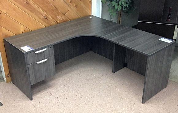 "66"" x 66"" L Shaped Desk with Box-File Pedestal"