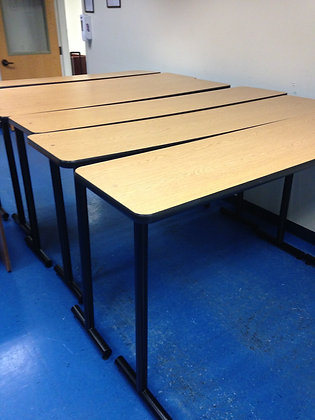 "#229, Pre-Owned Cafe Height 18""D Tables"