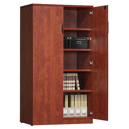 """Laminate Storage Cabinet - 36""""W x 66""""H"""