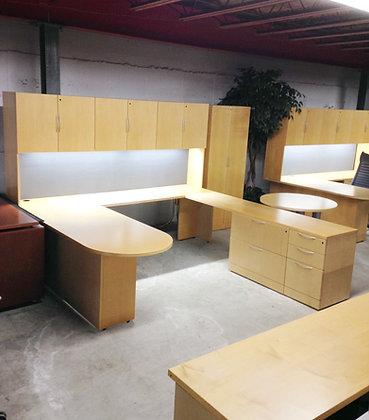 #11, Pre-Owned Knoll Executive U-Shaped Desks