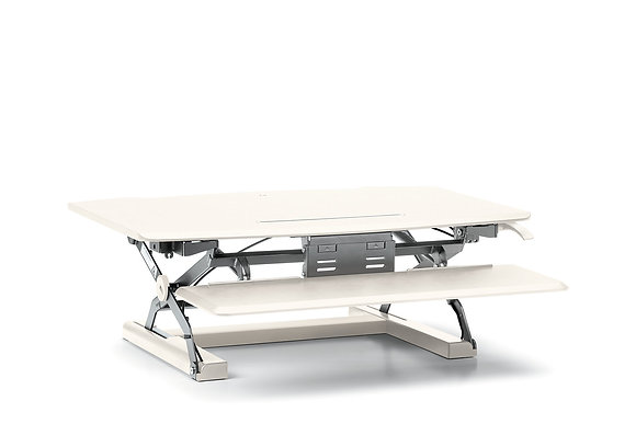 Portable Desktop Riser with Keyboard Tray